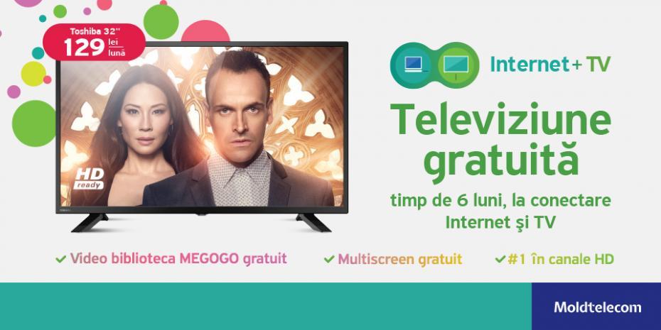 Primeşte 6 luni de televiziune digitală gratuită la
