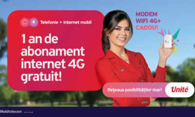Televiziune digitală şi Internet de mare viteză de la